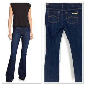 Micheal Kors low rise flare creased jeans Sz.4P